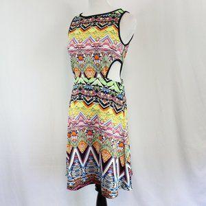 Just Love Cut Out Dress Size Medium Kaleidoscope